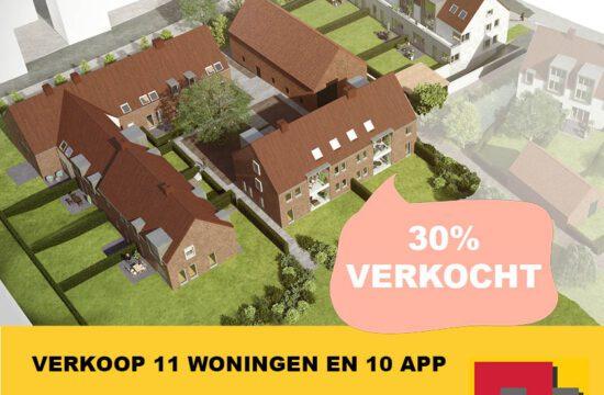 Project LINDENHOF Baardegem: 30% VERKOCHT!